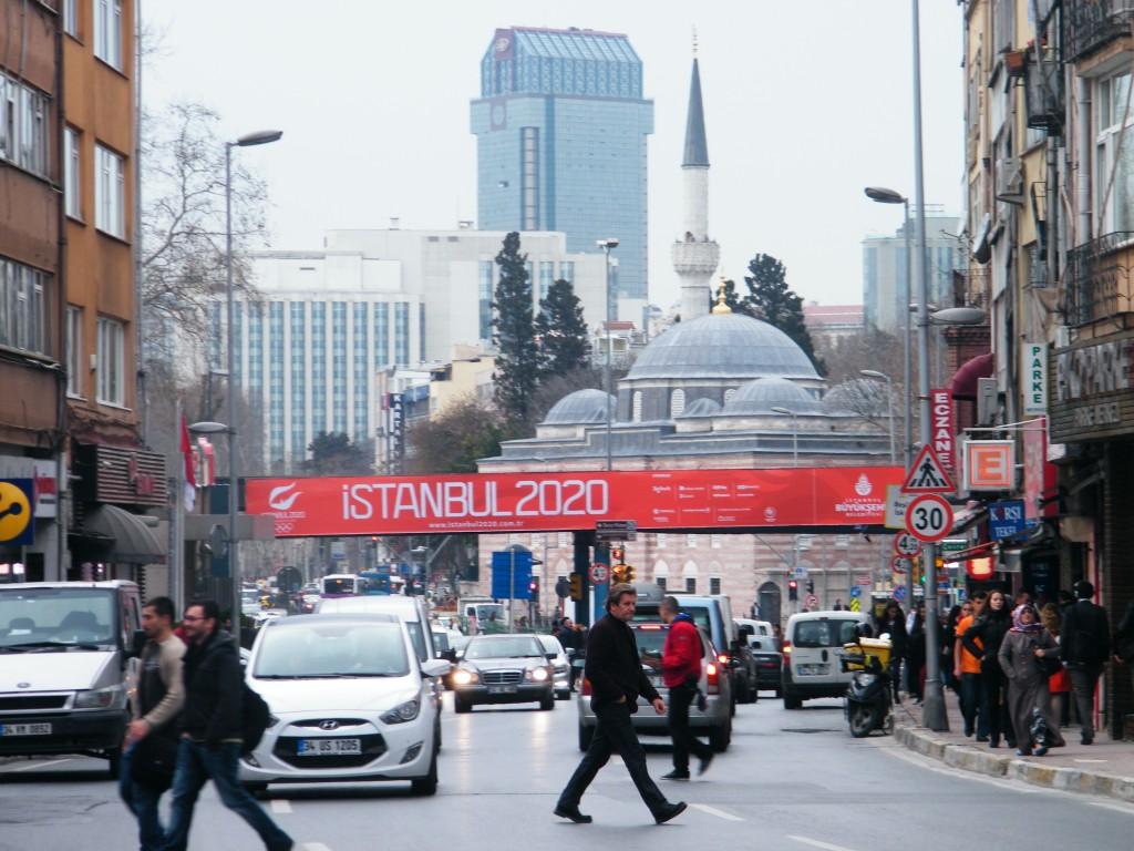 Olimpiadas 2020 Istanbul