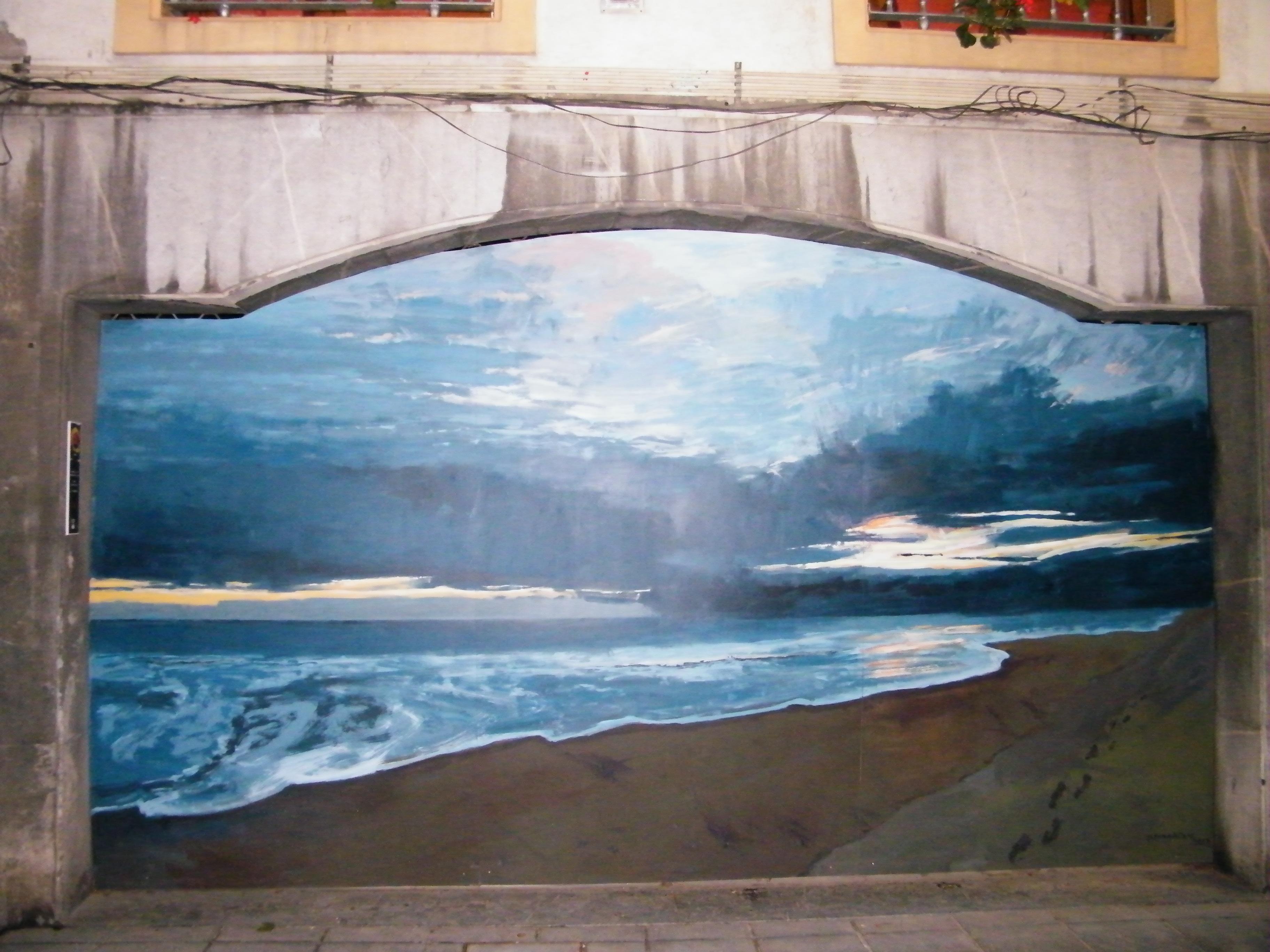 El mar también se pinta