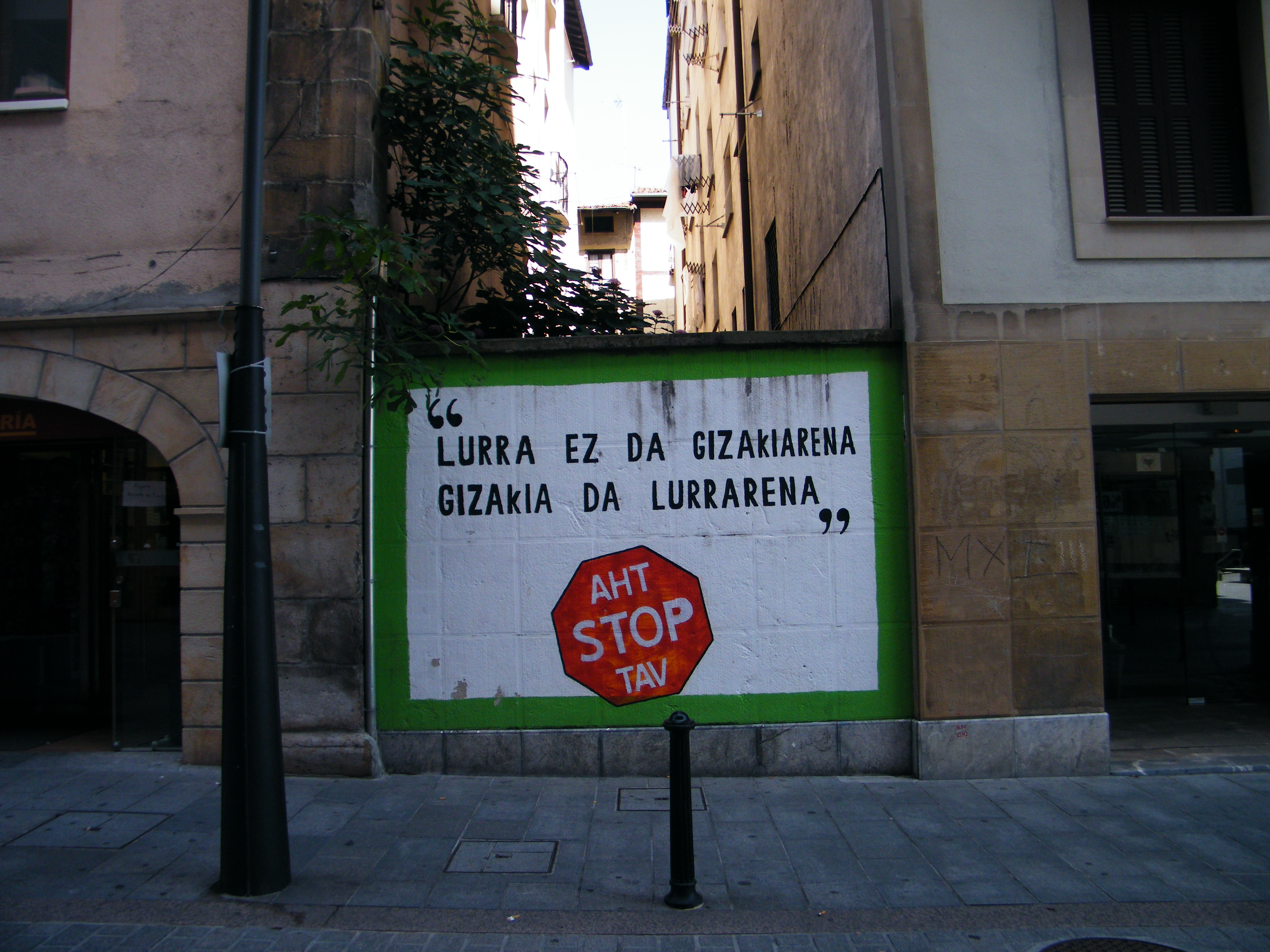relación tierra y hombre Euskadi