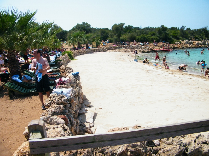 Protección de arena especial de la Isla Cleopatra