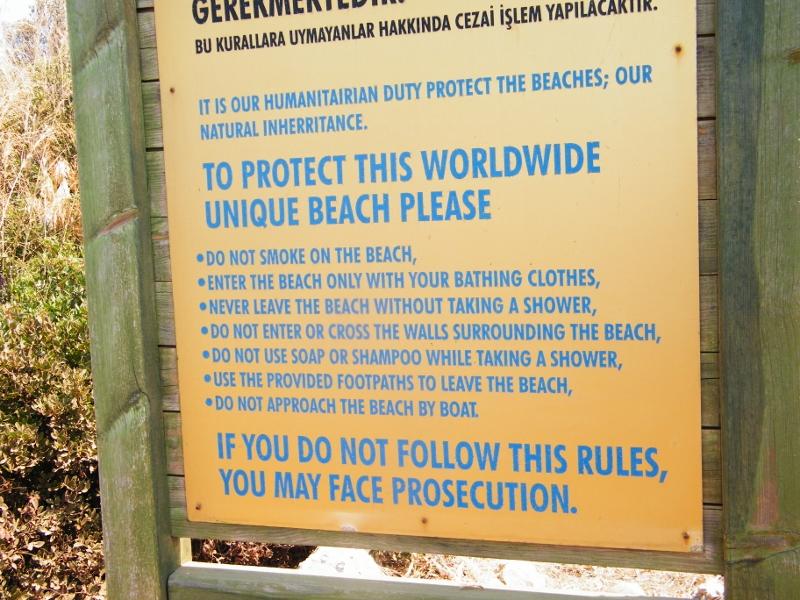 Preservar la arena de la Isla Cleopatra