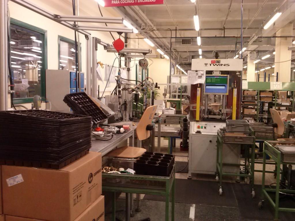 Interior fábrica Copreci