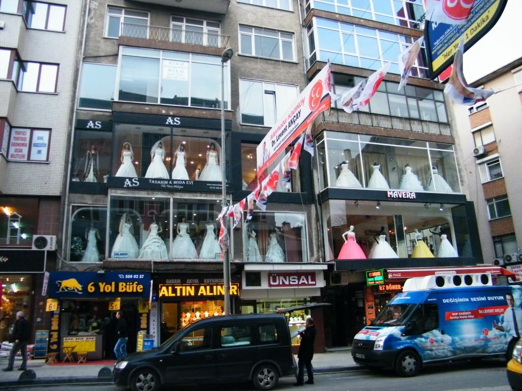 tiendas de bodas en Kadiköy