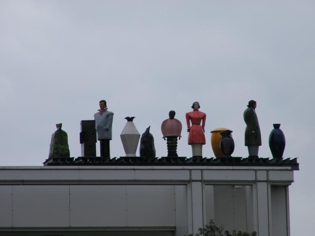 arte en los tejados