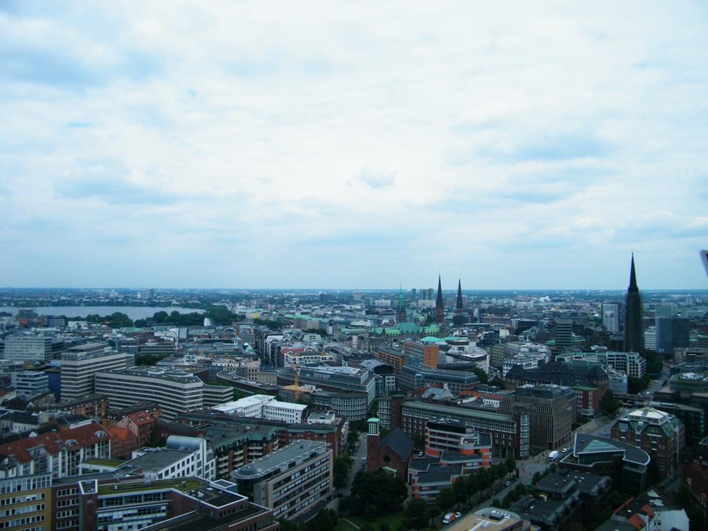 vista de Hamburgo