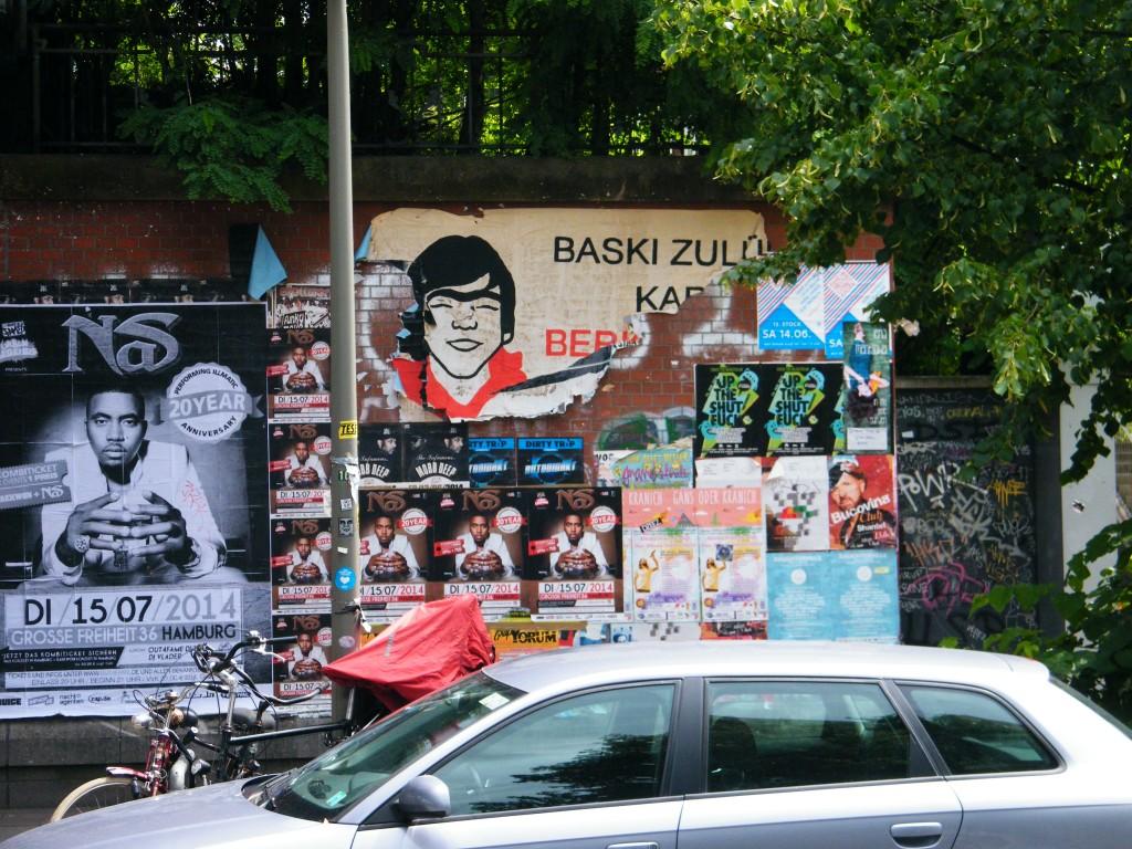 Fotografía de Berkin Elvan en Hamburgo