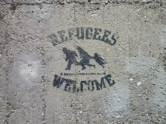 refugiados que huyen de Siria o Irak
