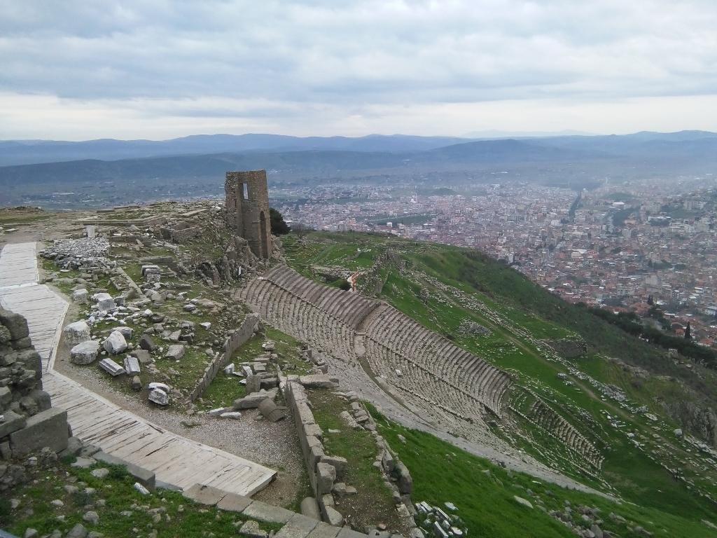 Ruinas de Turquía. Erdogán.