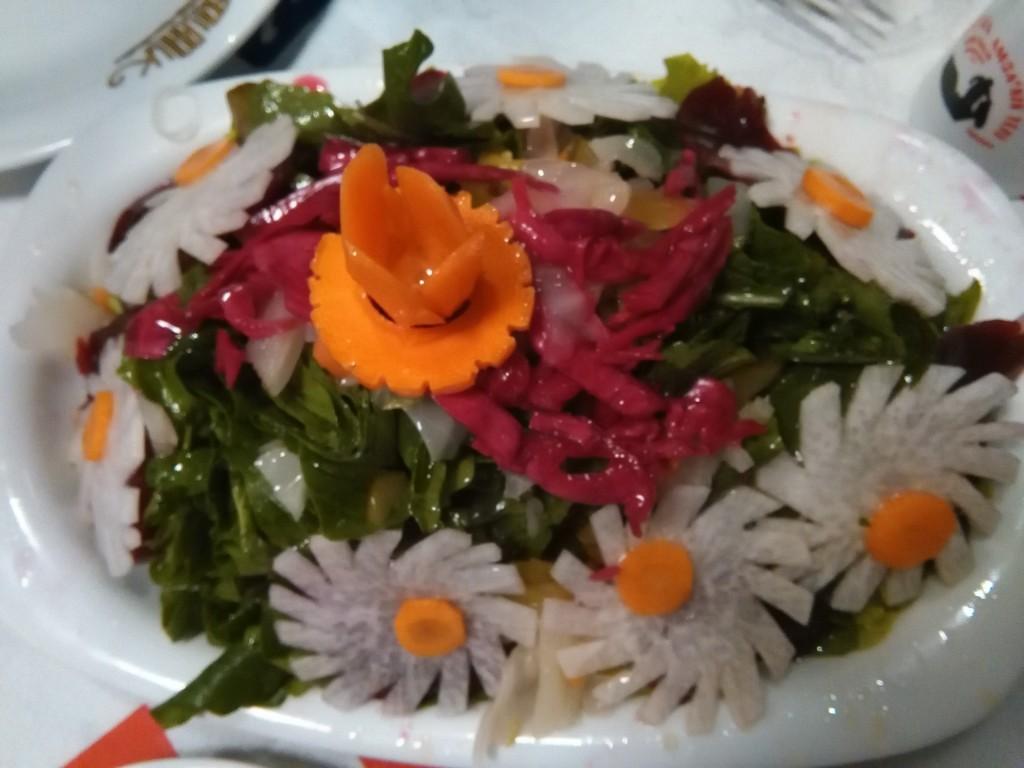 ensalada típica de Amasra.