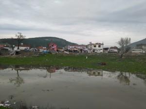 Comunidad gitana entre Aliaga y Bergama