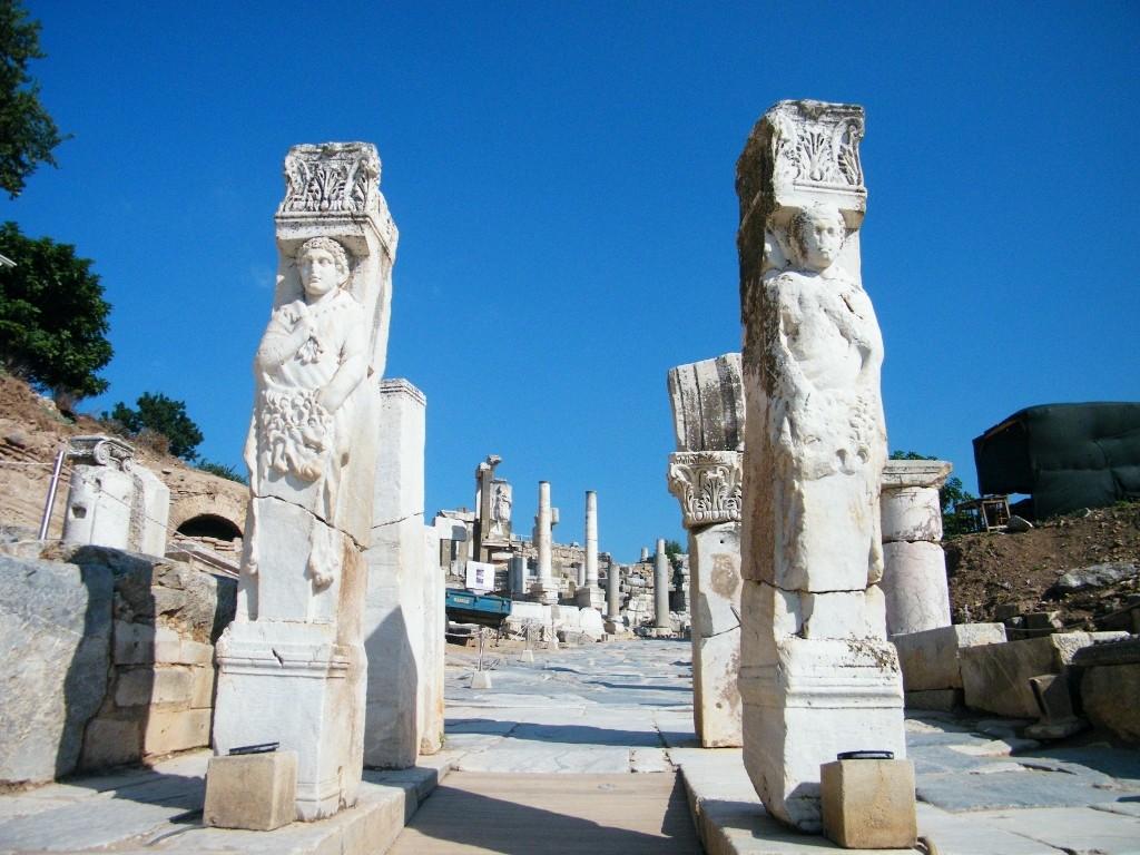 Arte por todos los lados. /Ephesus. J.M