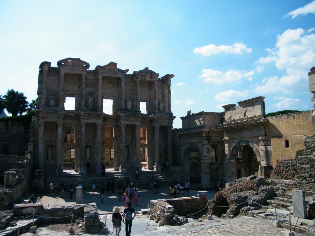 biblioteca de Celso en Ephesus