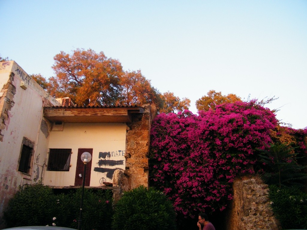 flores en Creta