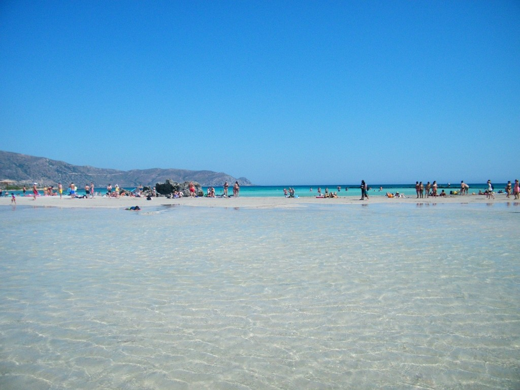 playa preciosa la de Elafonisi
