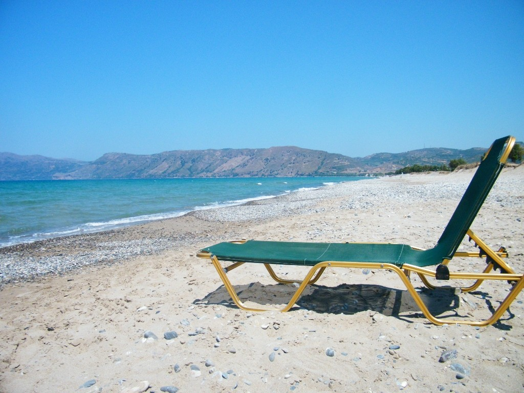 km y km de playa en Creta