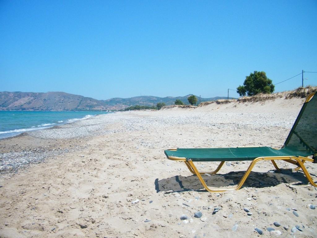playa de lujo en Creta