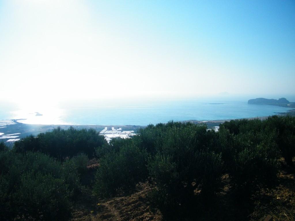vist ade la playa de Falasarna en Creta