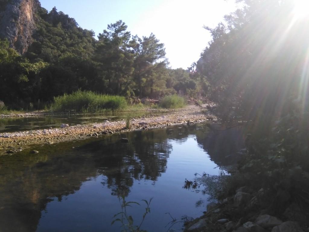 el río de Olympus
