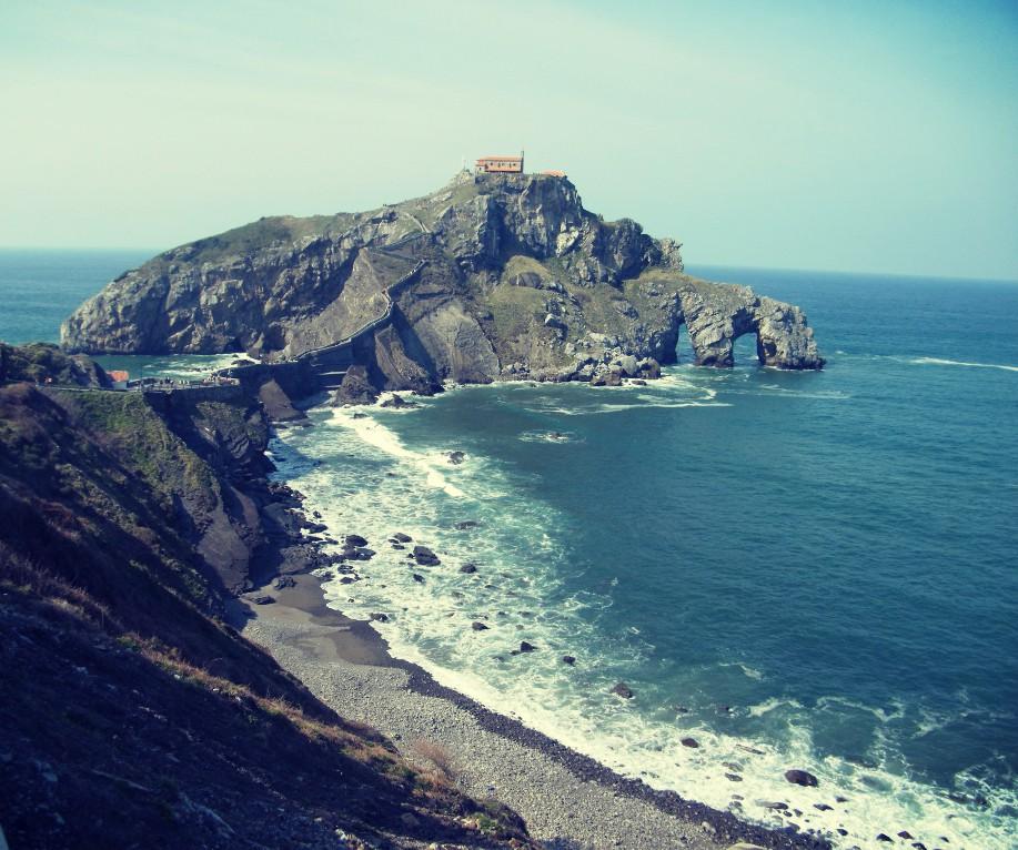 San Juan de Gaztelugatxe en el País Vasco