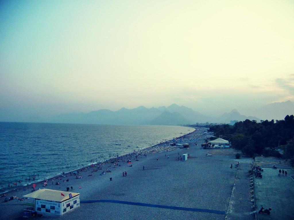 montañas preciosas en Antalya