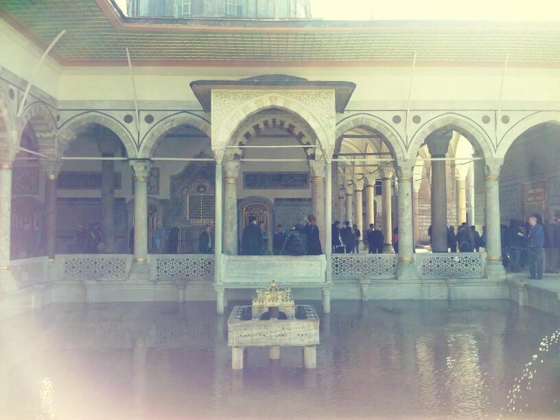 precioso palacio en Estambul