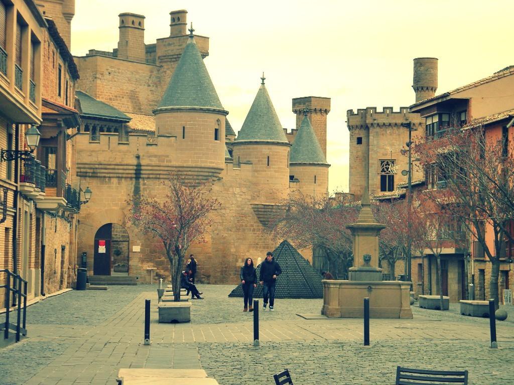 castillo precioso en Olite