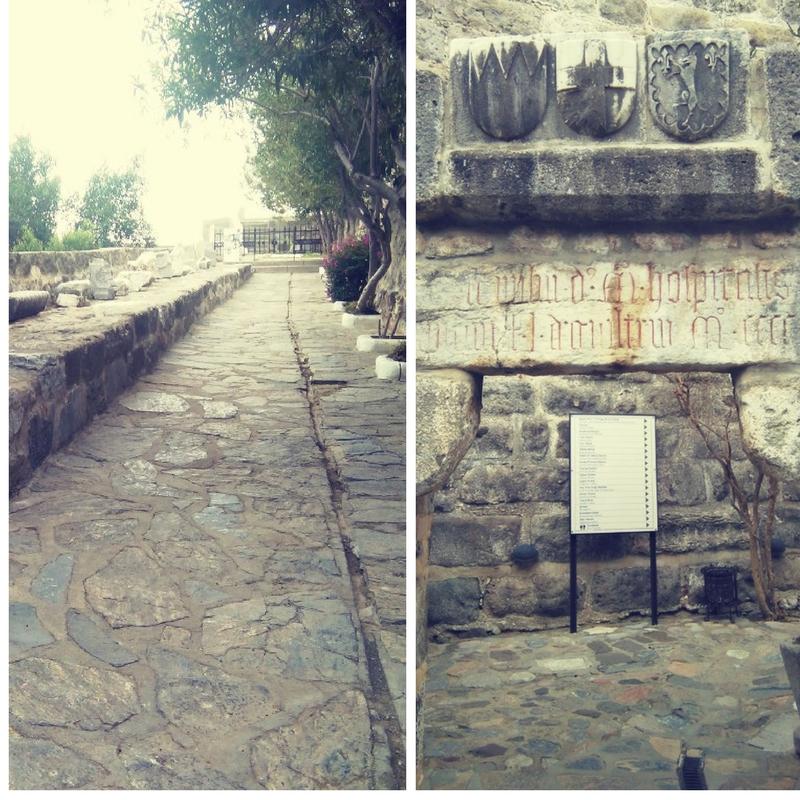 entrada al castillo de Bodrum