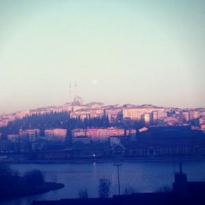 Vista de Estambul en Turquía