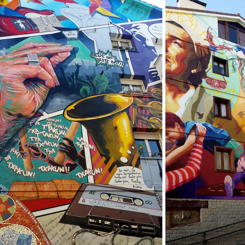 Street art: murales públicos en Vitoria-Gasteiz