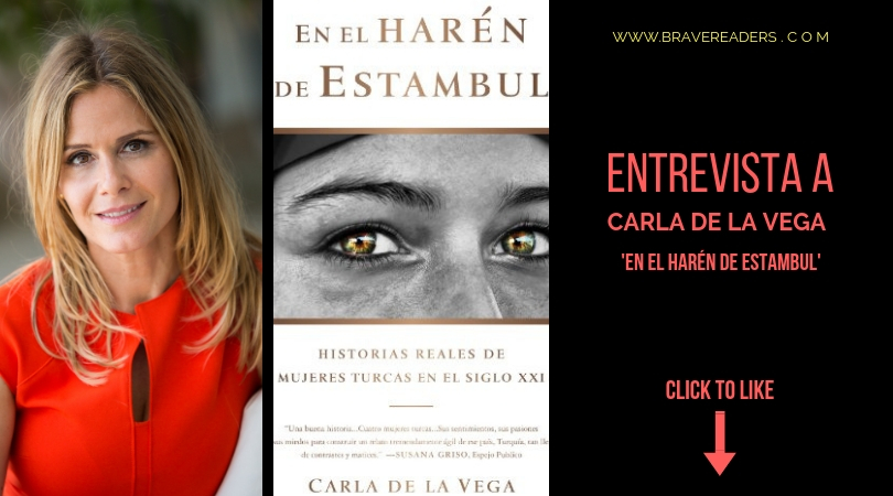 Carla de la Vega, autora de En el Harén de EStambul