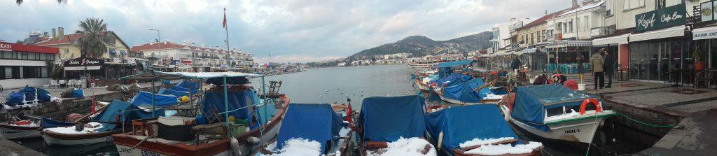 Foça en el egeo turco