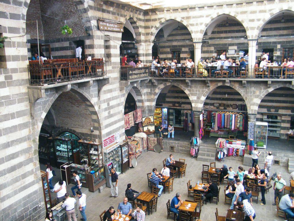 Diyarbakir en el este de turquia y/o kurdistán turco