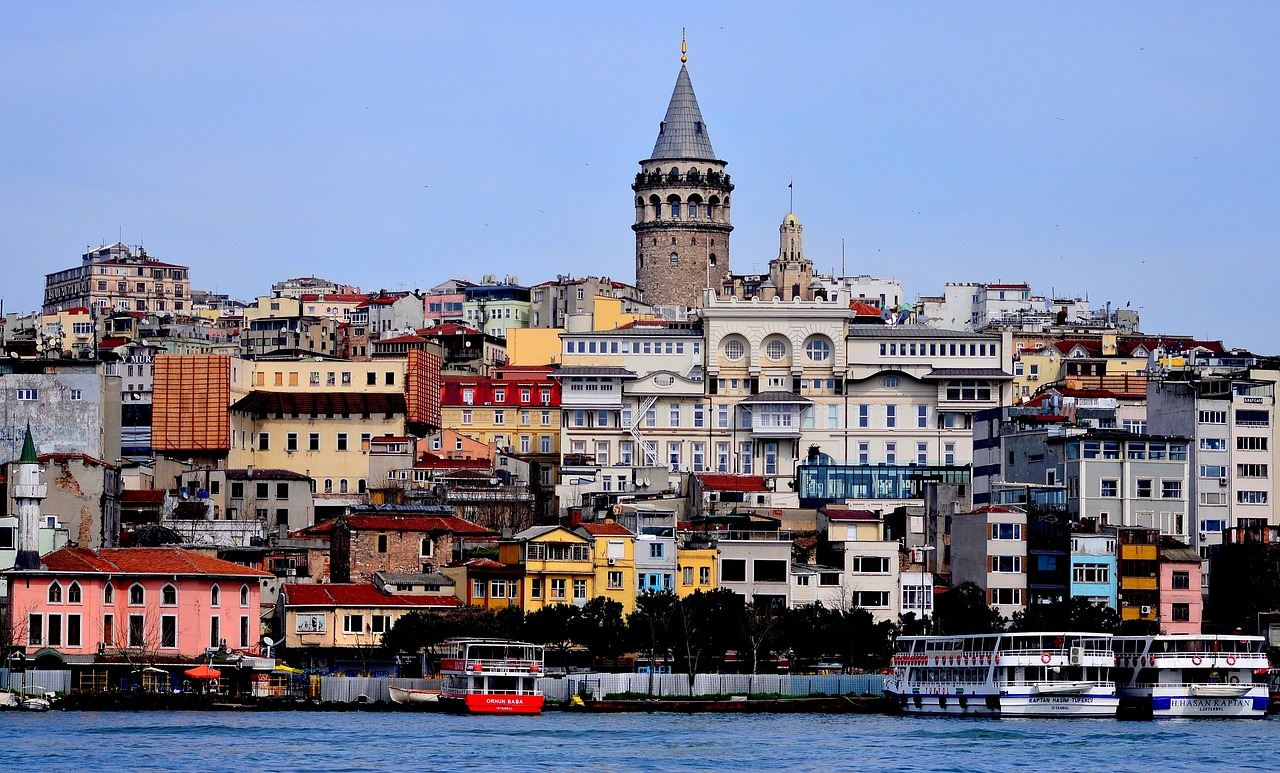 torre de gálata en Taksim Estambul