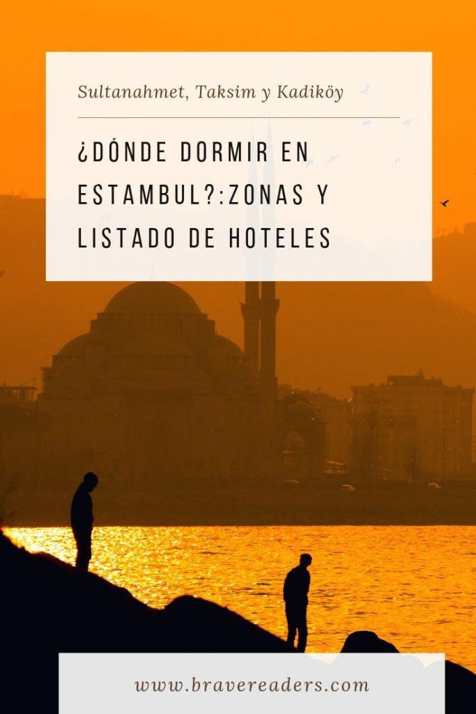 ¿Dónde dormir en Estambul? : zonas y listado de hoteles. Ventajas y desventajas de Sultanahmet, Taksim y Kadiköy.
